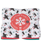Now Designs Floursack Dishtowel Set Puffin Party