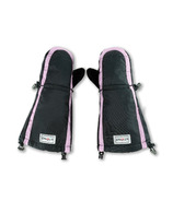 Stonz Youth Mitts Accented Haze Pink & Black