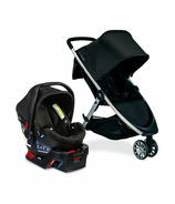 Britax B-Lively & B-Safe Gen2 Travel System Eclipse Black SafeWash