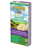 Annie's Homegrown Organic Grass Fed Shells White Cheddar Macaroni & Cheese