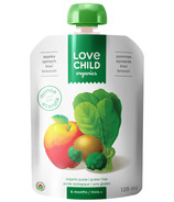 Love Child Organics Pouch Apples, Spinach, Kiwi & Broccoli