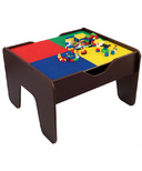 KidKraft 2-in-1 Activity Table With Board Espresso