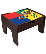 KidKraft 2-in-1 Activity Table With Board Espresso