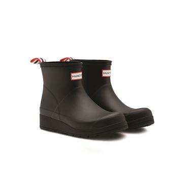 Hunter Boots Original Short Play Rainboot Black
