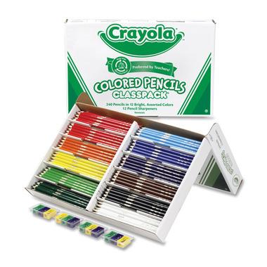 Crayola Coloured Pencils Class Pack