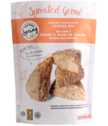 Second Spring Organic Sprouted Whole Grain Scones Mix