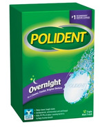 Polident Overnight Cleanser