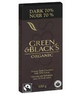 Green & Black's Organic Dark Chocolate 70% Bar