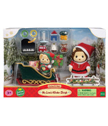 Calico Critters Mr. Lion's Winter Sleigh Limited Edition Holiday Set
