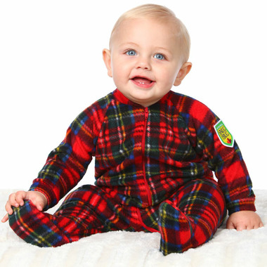 Buy Snug As A Bug Baby Footed Onesie Christmas Plaid from Canada at ... 8d3d9bd0c