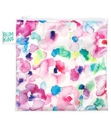 Bumkins Reusable Snack Bag Large Watercolour Flower
