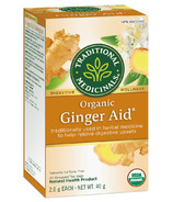 Traditional Medicinals Organic Ginger Aid Tea