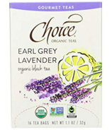 Choice Organic Teas Earl Grey Lavender Tea