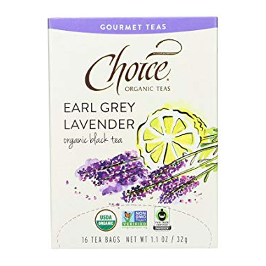 Choice Organic Teas Earl Grey Lavender Tea