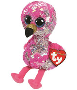 Ty Flippables Pinky The Sequin Flamingo Regular