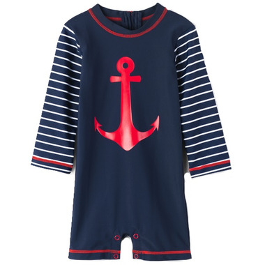Hatley One Piece Rashguard Sea Anchors
