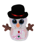 Ty Flippables Melty The Christmas Sequin Snowman Medium