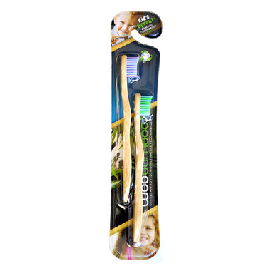 Woobamboo Bamboo Sprout Toothbrush For Kids Super Soft