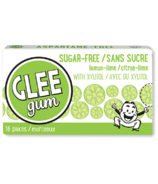 Glee Gum All Natural Sugar-Free Lemon-Lime Gum