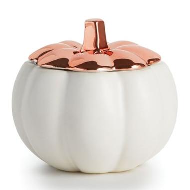 Illume Rustic Pumpkin Ceramic Candle