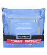 Neutrogena All-in-One Make-up Removing Wipes Duo Pack