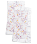 Lulujo Security Blankets Muslin Cotton Modern Unicorn