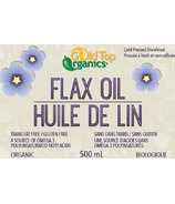 Gold Top Organics Organic Flax Seed Oil