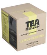 Tea Rebellion Lemon Verbena Herbal Tea