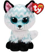 TY Beanie Boo Atlas le renard bleu et blanc