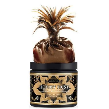 Kama Sutra Honey Dust Body Powder Vanilla Creme
