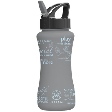 Gaiam EZ-Flip Water Bottle Be Inspired