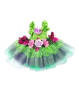 Great Pretenders Fairy Blooms Deluxe Dress Green