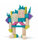 Tegu Magnetic Wooden Blocks Set Beans and Tumtum