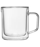 Ensemble de deux tasses en verre Corkcicle Transparent