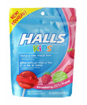 Halls Kids Cough & Sore Throat Pops