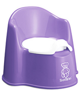 BabyBjorn Potty Chair Purple & White