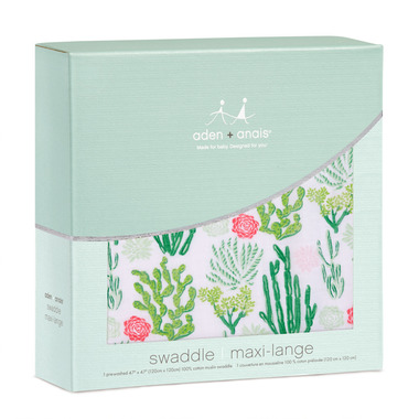 aden + anais Classic Swaddles Cactus Blooms