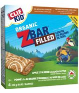 Clif Kids Organic Zbar Apple Filled with Almond & Cashew Butter