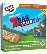 Clif Kids Organic Zbar Apple Filled with Almond & Cashew Butter