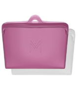 Montii Co Silicone Pack & Snack Bags Rose