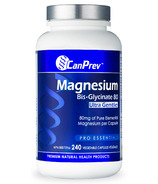 CanPrev Magnesium Bis-Glycinate 80 Ultra Gentle