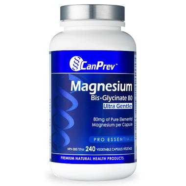 CanPrev Magnesium Bis-Glycinate 80 Ultra Gentle