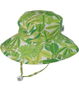 Puffin Gear Sunbaby Hat Tropical Palm Lush
