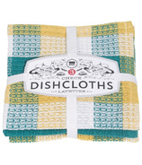 Now Designs Check Dishcloth Set Mallard