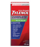 Tylenol Extra Strength Complete Cold, Cough & Flu Plus Mucus Relief Night