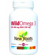 New Roots Herbal Wild Omega 3 EPA 660mg DHA 330mg