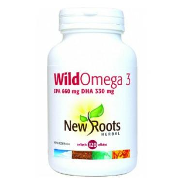 New Roots Herbal Wild Omega 3 EPA 660mg DHA 330mg