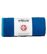 Manduka eQua Mat Towel Pacific Blue