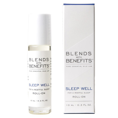 Blends With Benefits Sleep Well Essential Oil Roll On