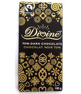 Divine Chocolate Fair Trade 70% Dark Chocolate Bar